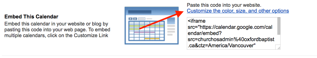 Embedding a Google Calendar - Ascend Knowledge Base
