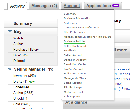 How To Use Ebay Shipping Profiles Wp Lab Knowledge Base