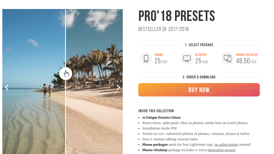 How to customize embedded Buy Now buttons for my website