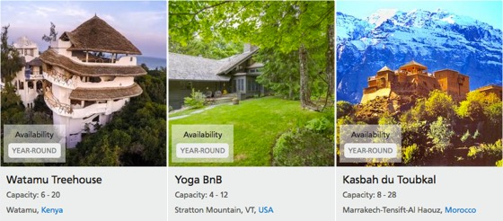 YogaTrail Host Finder