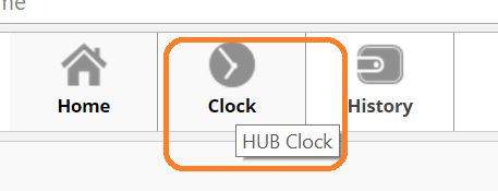 hub clock reviewing your time sheet asap help center