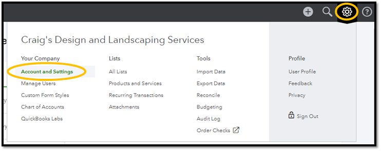 QuickBooks Online - Setting Your Preferences - ASAP Help Center