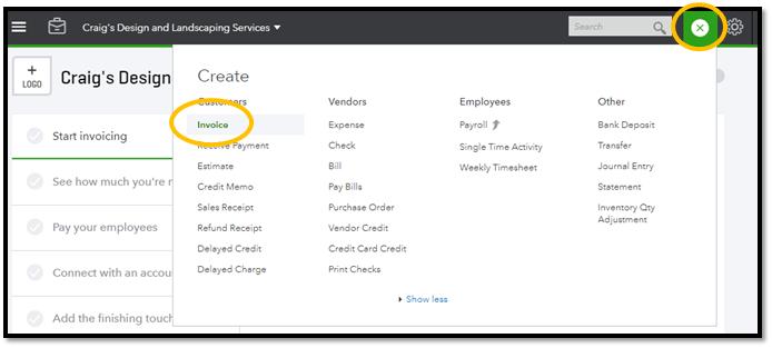 QuickBooks Online Create A Recurring Transaction ASAP Help Center - Quickbooks online invoicing portal features