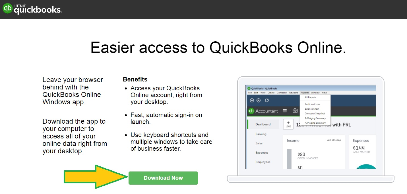 QuickBooks Online Windows Desktop App - ASAP Help Center