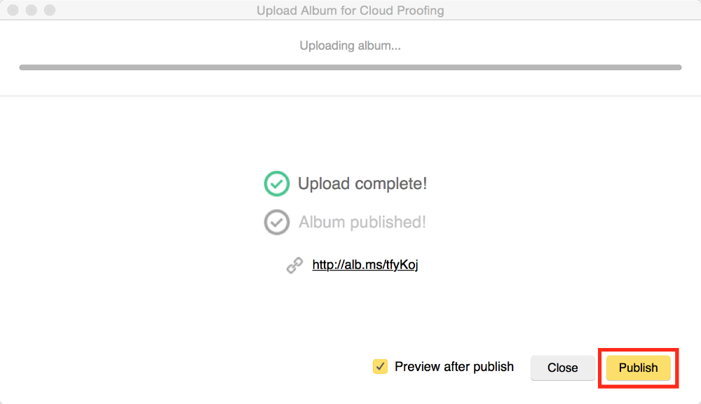 cloud proofing sending email invitation to clients pixellu