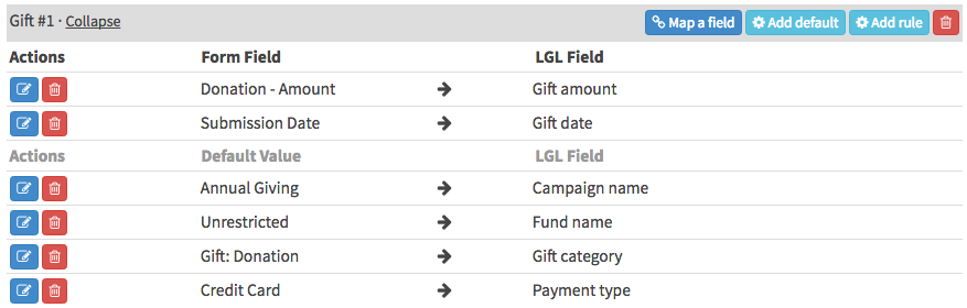 Integrate your LGL Forms data to flow into LGL - Little