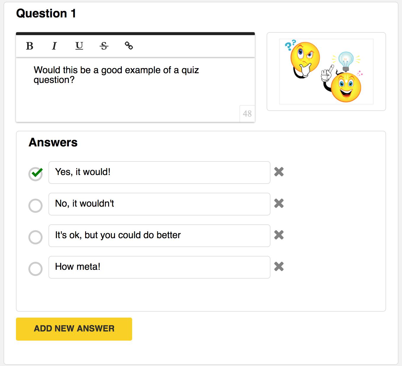 Adding a Quiz to Your Course - Zippy Courses