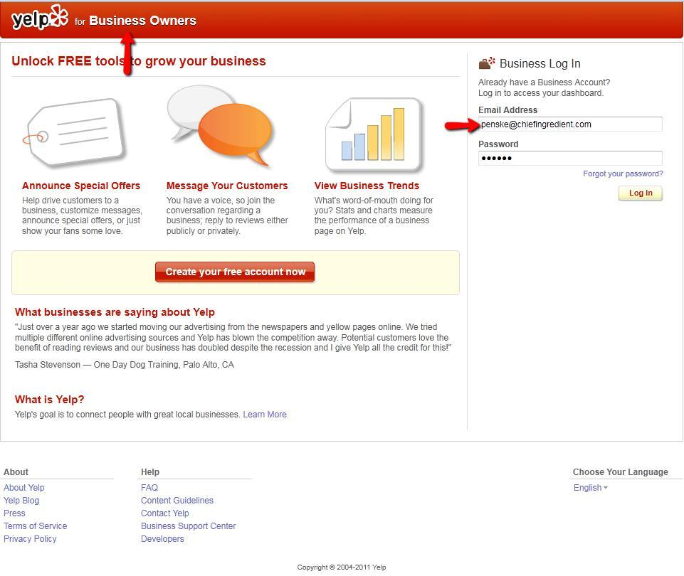 How to Merge Yelp Listings - FCA Support
