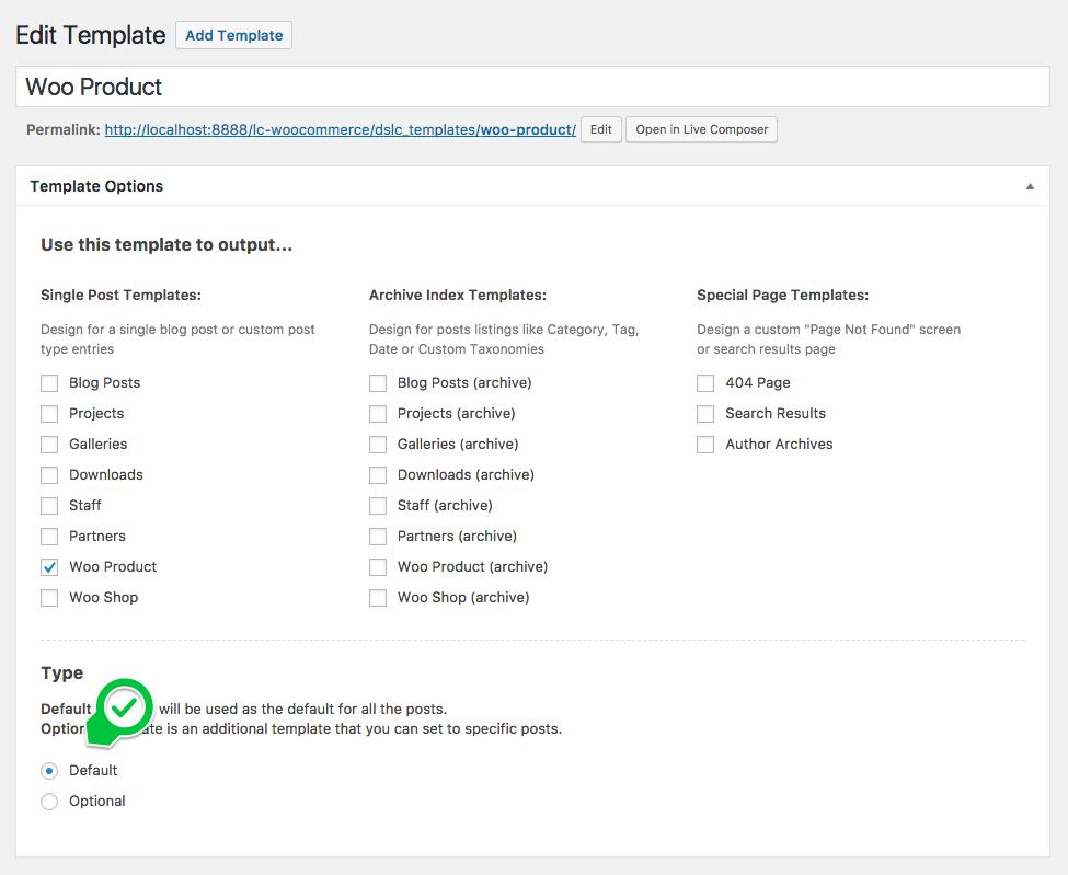 WooCommerce Integration - Getting Started - Live Composer ...