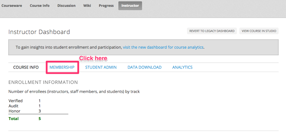 Unenrolling students from your Open edX course - Appsembler