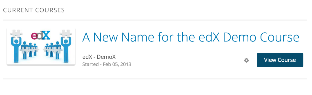 Changing the name of your Open edX course - Appsembler