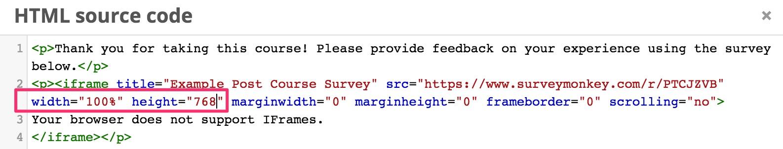 Adding a SurveyMonkey survey to your Open edX course - Appsembler