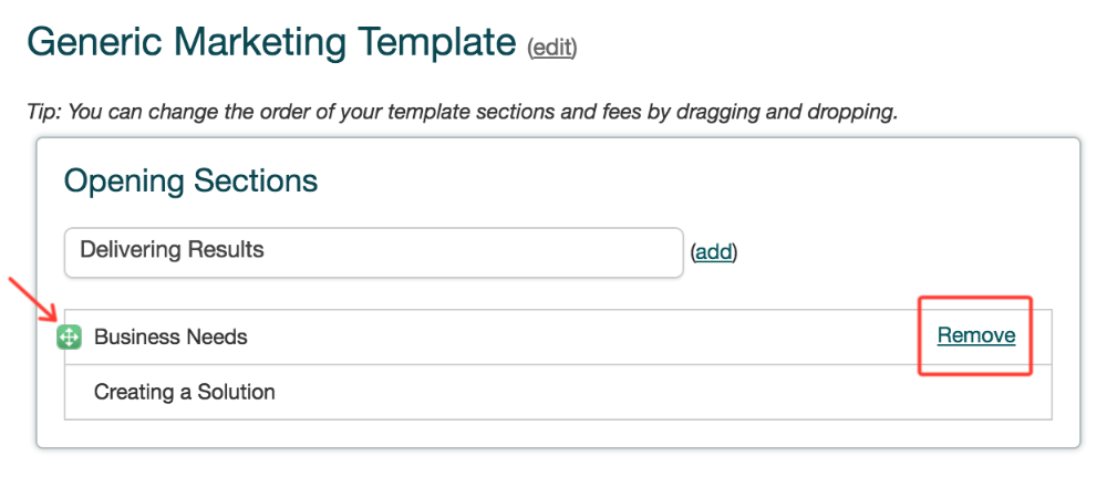 How To Create A Proposal Template Bidsketch Knowledge Base