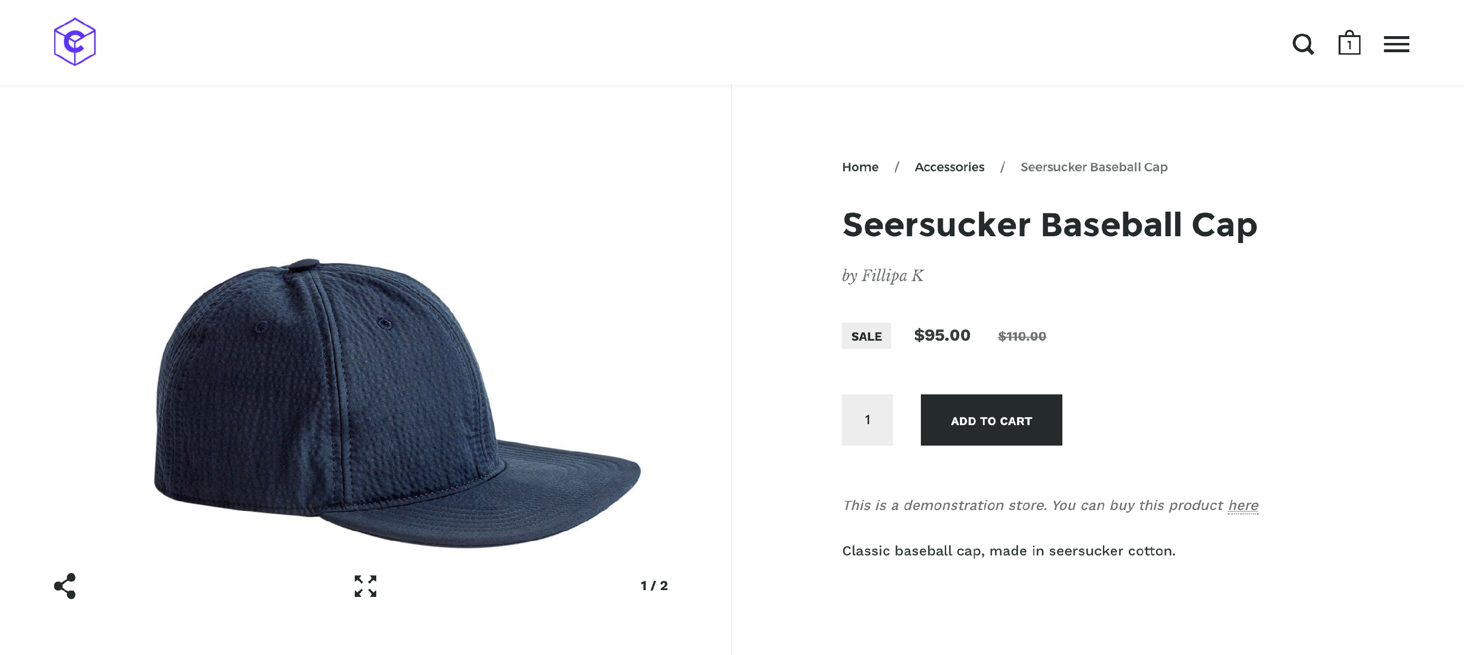 Adding breadcrumb in product pages - Krown Themes / Shopify