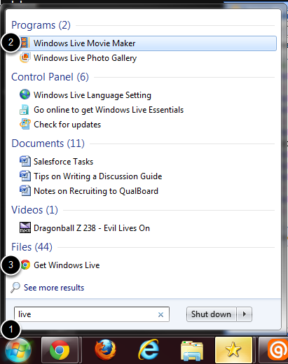 Using Windows Live Movie Maker With Your Videos Qualboard Help