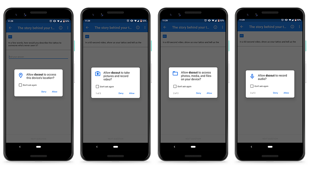 Managing permissions on Android - Scout Knowledge Base