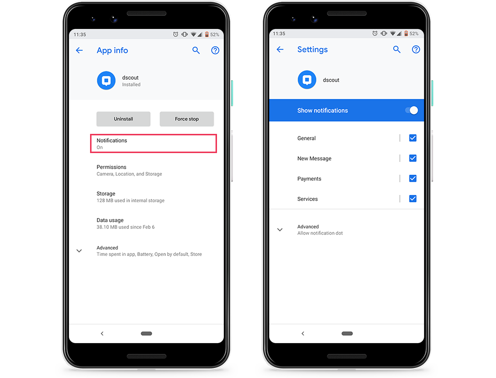 How do I enable in-app notifications? - Scout Knowledge Base