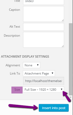 Slider images showing blurred - ThemeIsle Docs