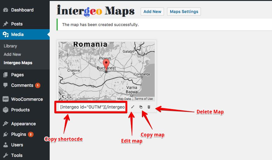 Intergeo Documentation - ThemeIsle Docs