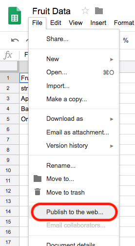 How can I populate data from Google Spreadsheet? - ThemeIsle Docs