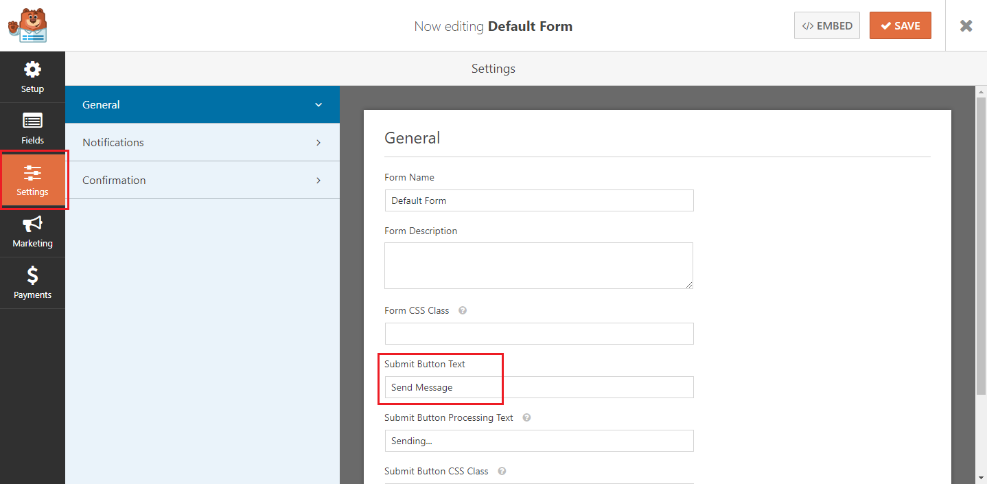 How to create the Hestia contact form in WPForms - ThemeIsle Docs
