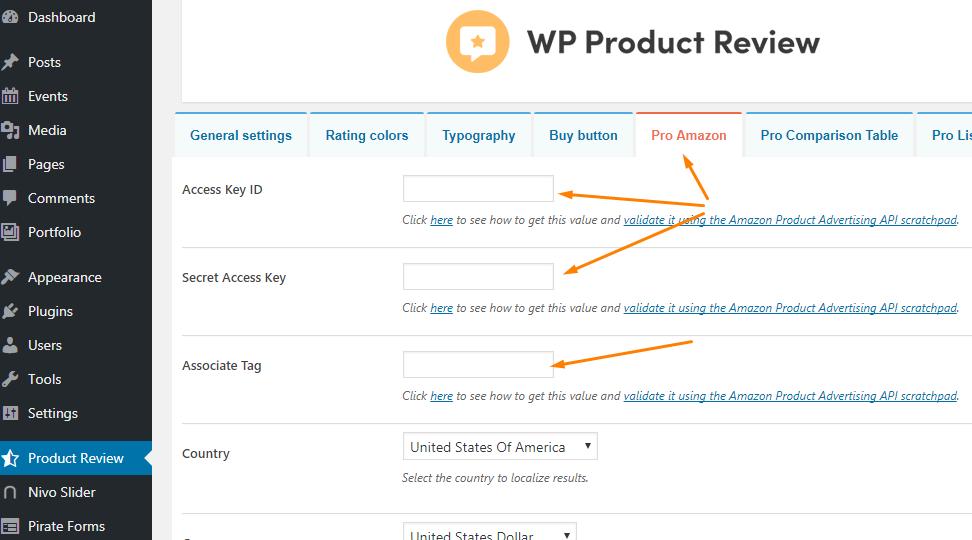 Amazon Integration Documentation - ThemeIsle Docs
