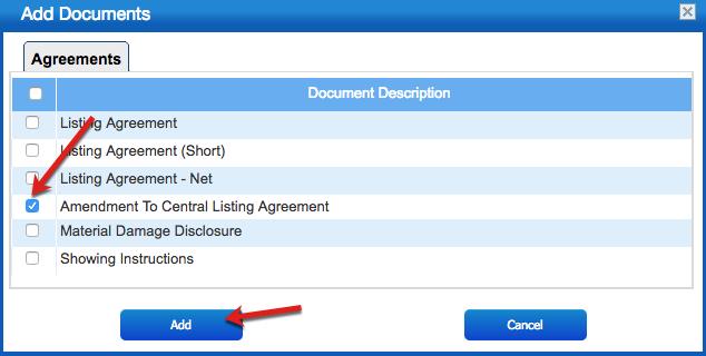 How To Create An Amendment To Listing Agreement Yachtcloser Help