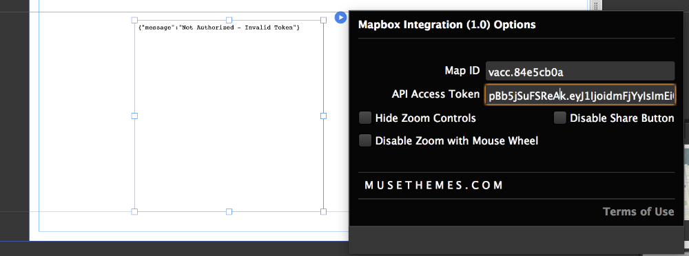 Configuring Mapbox - MuseThemes com Knowledge Base