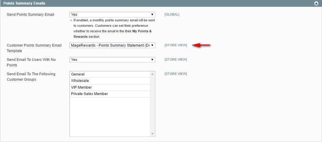 Customizing Magerewards Email Templates Magerewards Knowledgebase
