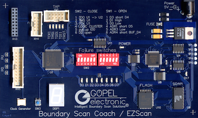 EZScan Coach Board