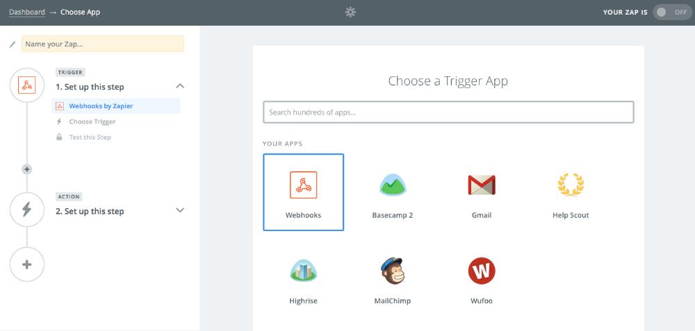 Zapier integration builder designs knowledge base ccuart Images