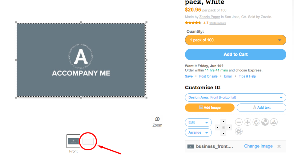 How To Print Your Business Cards With Zazzle - Tailor Brands