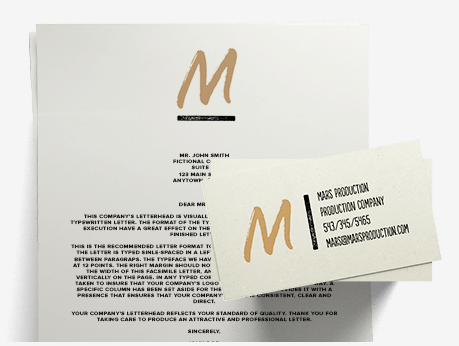 What are the business card and letterhead designs tailor brands related articles how do i use my business cards and letterhead designs reheart Images
