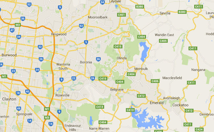 What are the eastern suburbs of melbourne