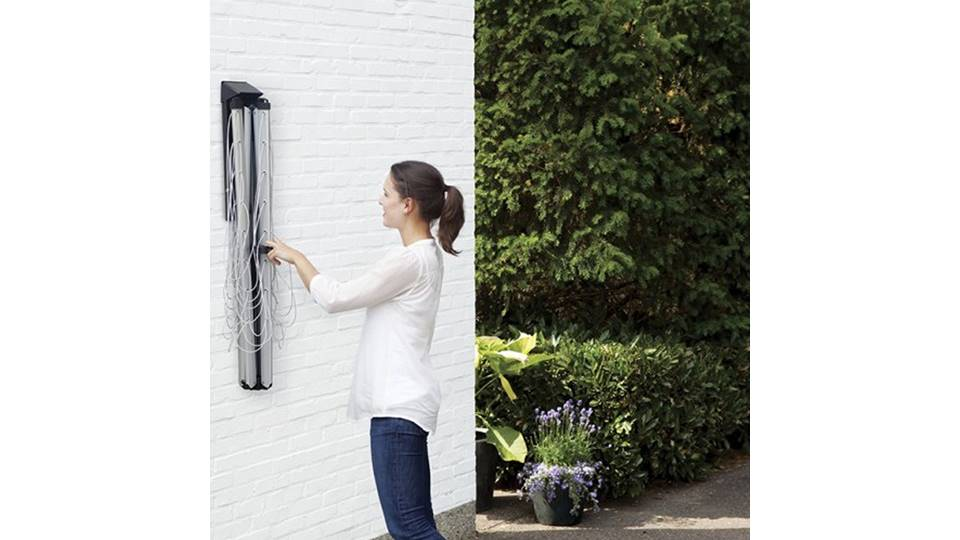 Brabantia Wallfix Clothesline Product Video