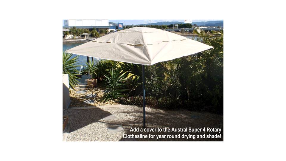 Austral Super 4 Rotary Clothesline Cover