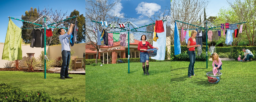 How to Install your Hills Rotary Clothesline