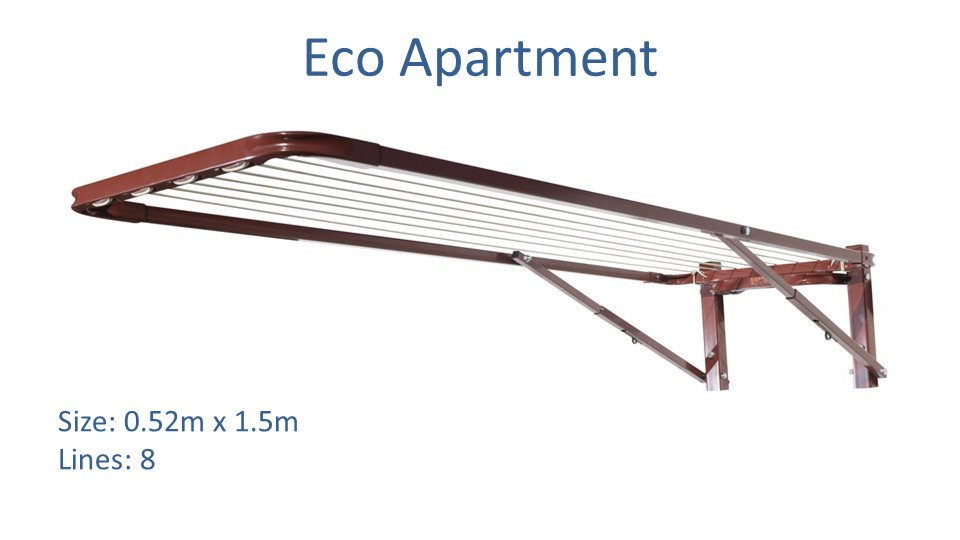 eco apartment clothesline