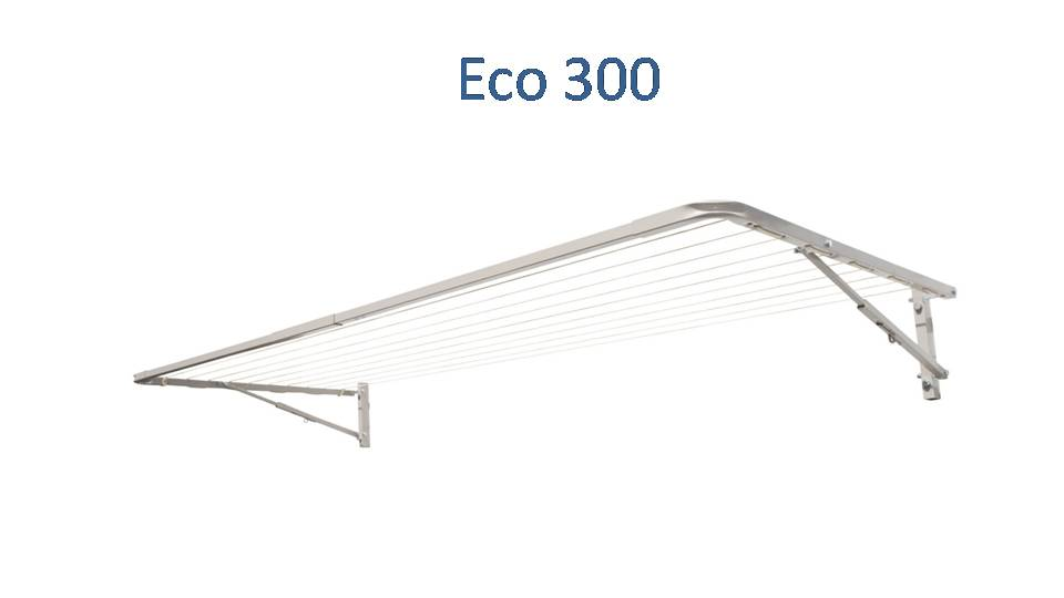 eco 300 330cm wide clothesline