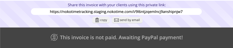 Getting paid with PayPal - Noko Help