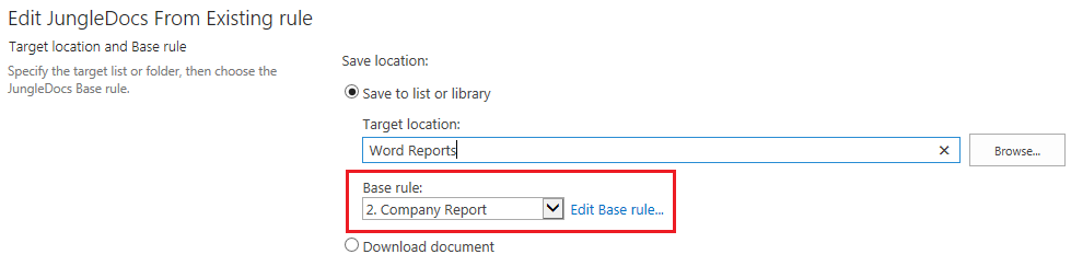 Assembling reports with Small Parts - JungleDocs Documentation