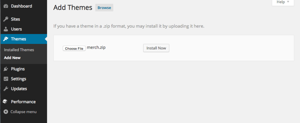 Gateway: Install the theme Without Demo Content - WordPress Theme ...