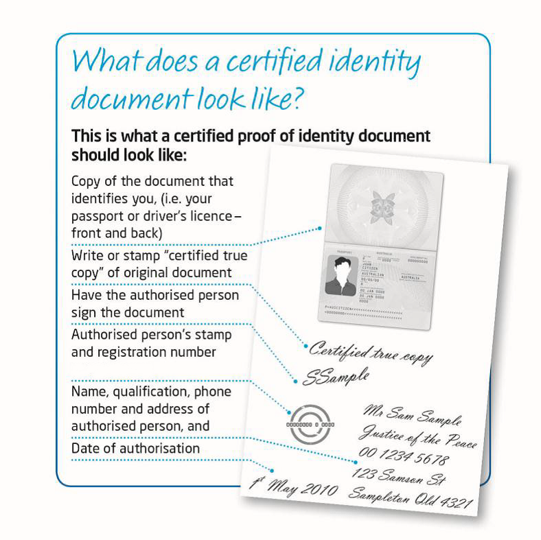 Proof Of Id And Address Document Checklist Company Formation