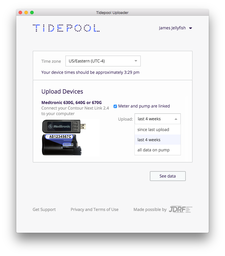 Uploading your Medtronic 630G, 640G, or 670G Insulin Pump - Tidepool