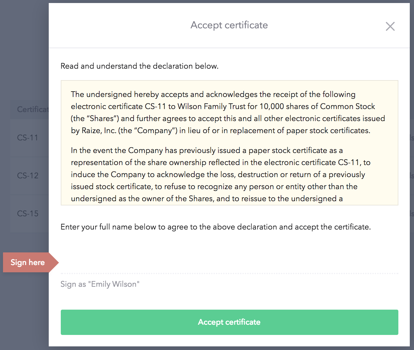 vesting certificate template - i 39 ve already issued paper certificates can i still issue
