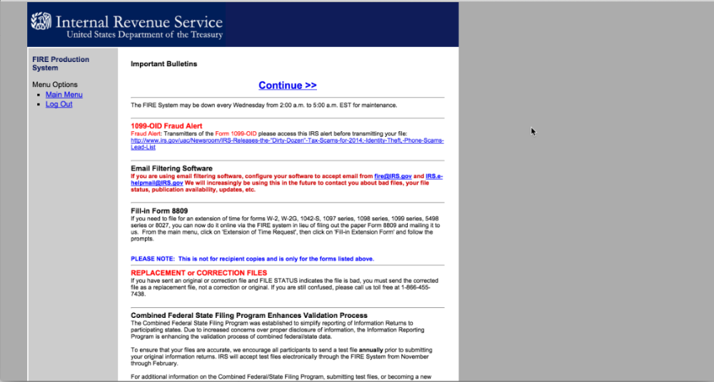 Uploading Your 3921 File To The Irs Website Carta Help Center