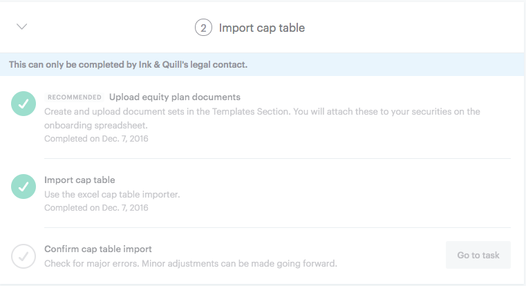 Onboarding set up guide carta help center table by uploading equity plan documents upload our complete excel template with your data once the law firm is done they will have a chance to view maxwellsz