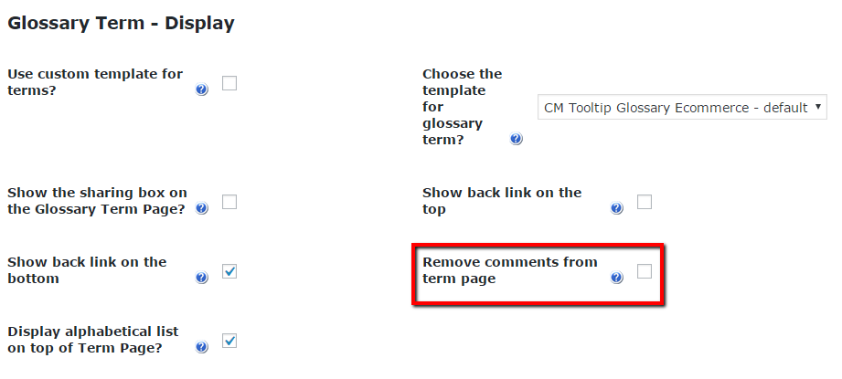 CM Tooltip (CMTG) - Terms - Disabling Term Page Comments ...