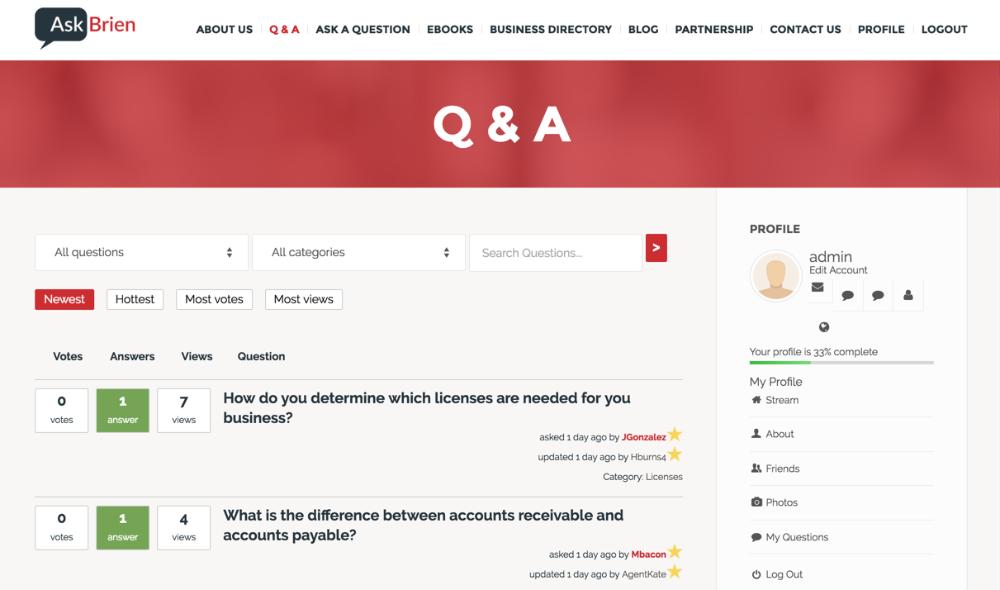CM Answers PeepSo Integration - PeepSo Profile