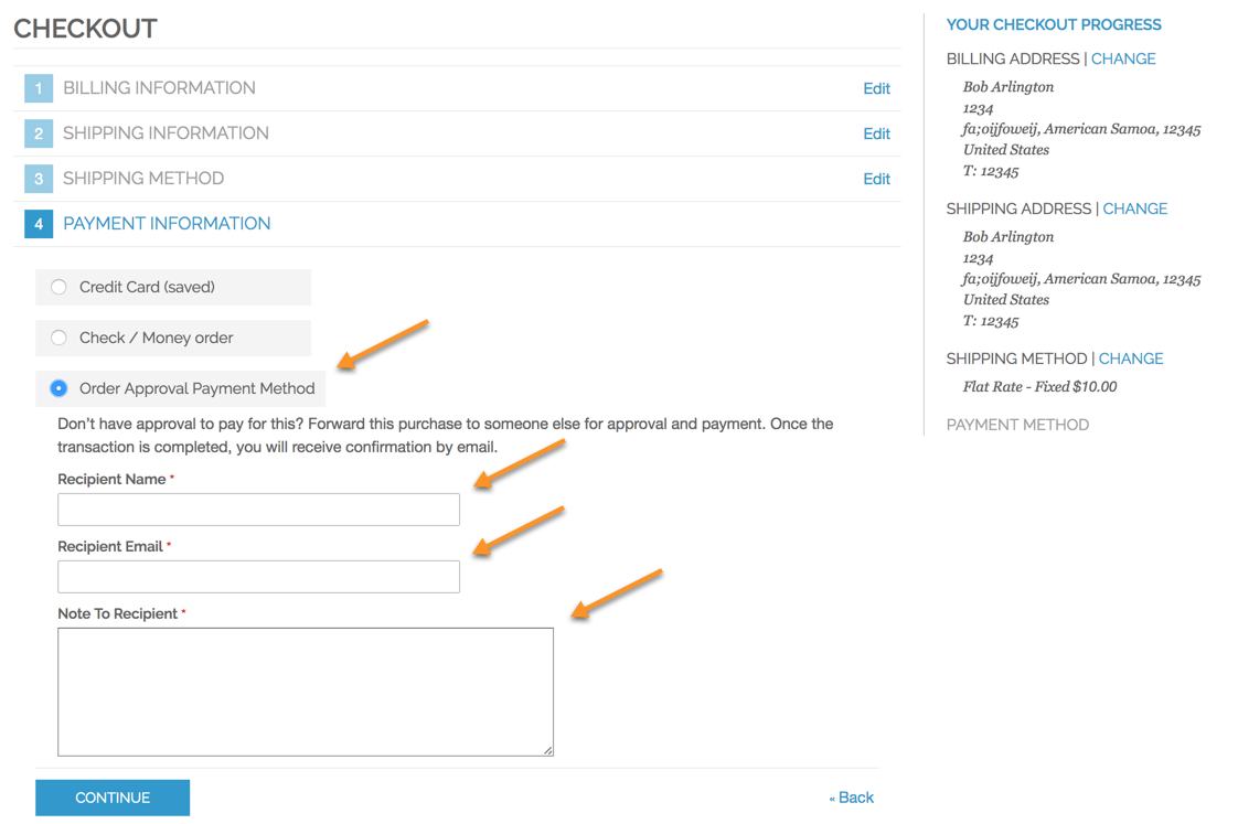 Order Approval Manager - General Usage - CreativeMinds